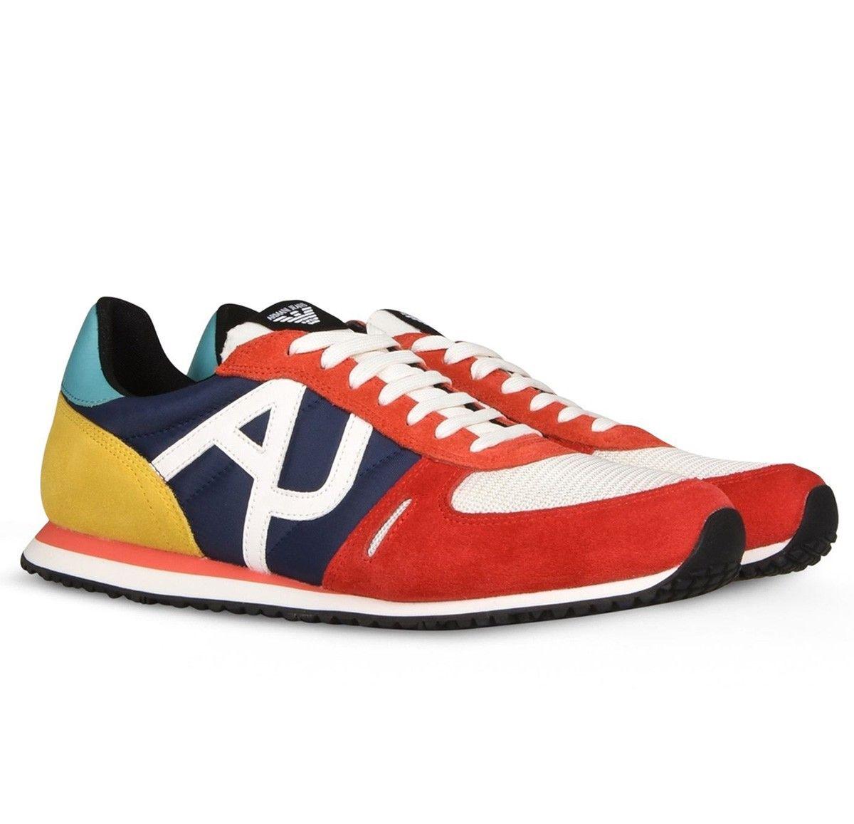 3e598e9131f Zapatillas Armani Jeans ® Multicolor