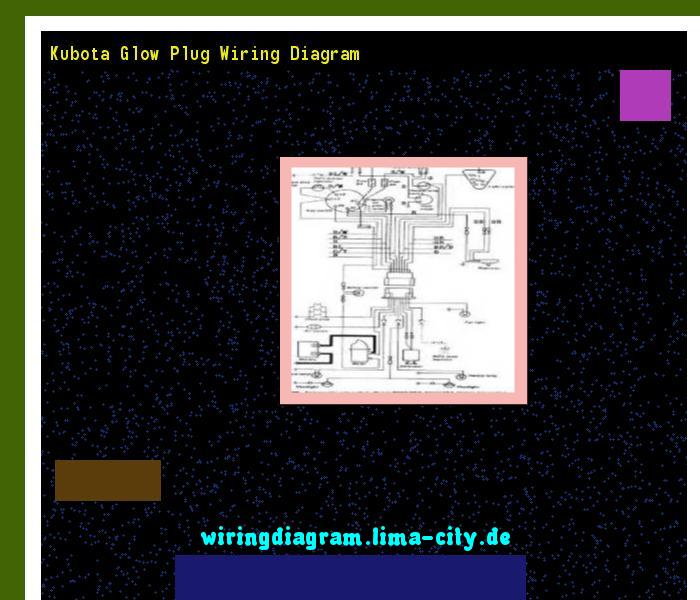 Kubota Glow Plug Wiring Diagram  Wiring Diagram 174636
