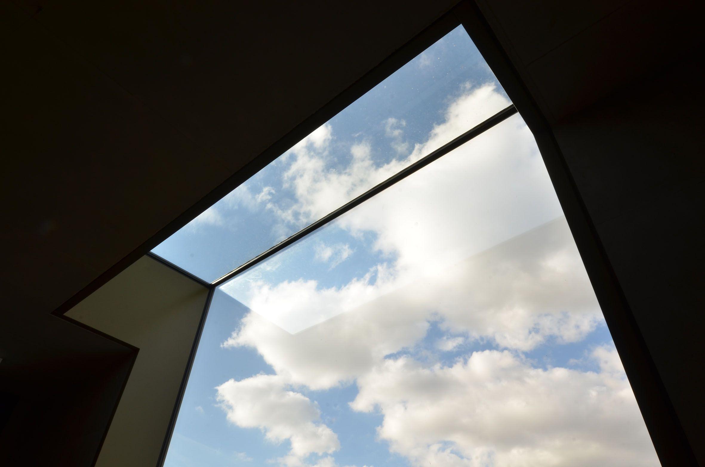 Fenster mit Überkopfverglasung im Werkraum, © bodensteiner fest