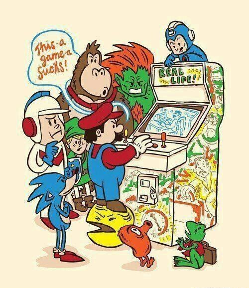 Video games - Nintendo - MARIO #games