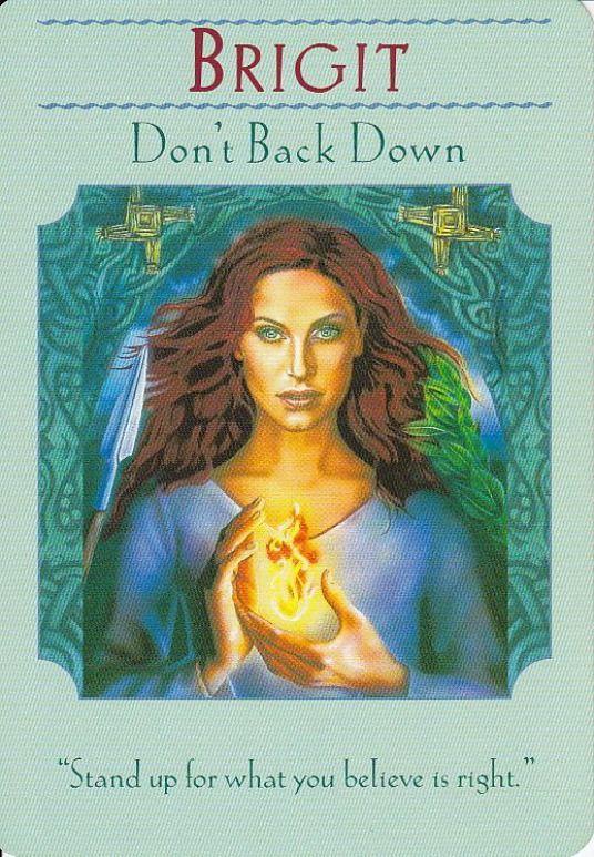 Brigit Goddess Guidance Oracle Cards Doreen Virtue Angels