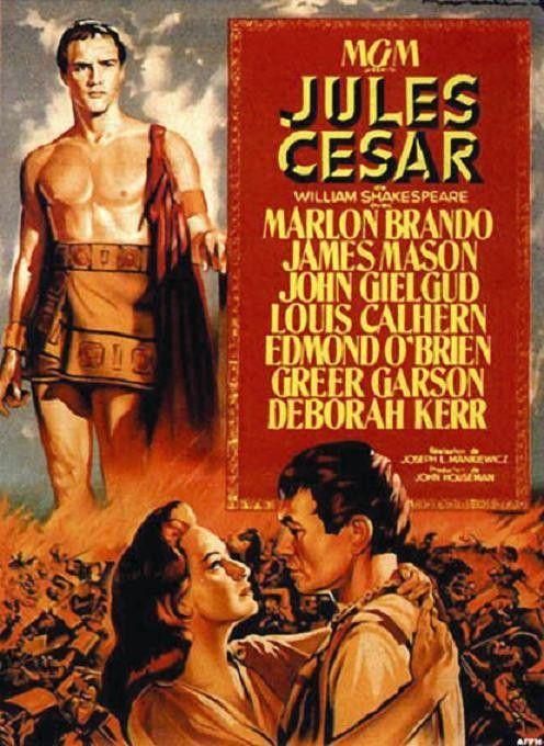 JULIUS CAESAR (1950) - Marlon Brando - Movie Poster