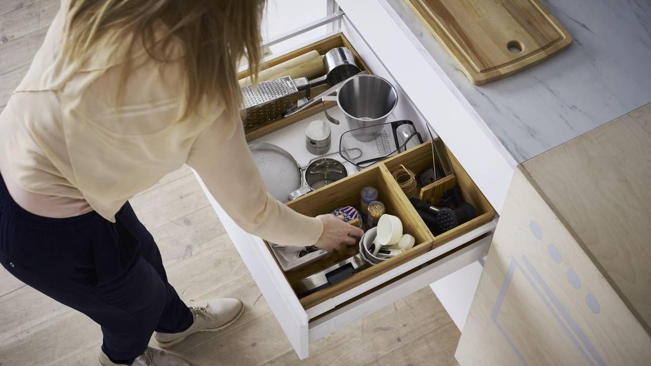 Ikea idee de kunst van het organiseren de keuken for Kunst keuken