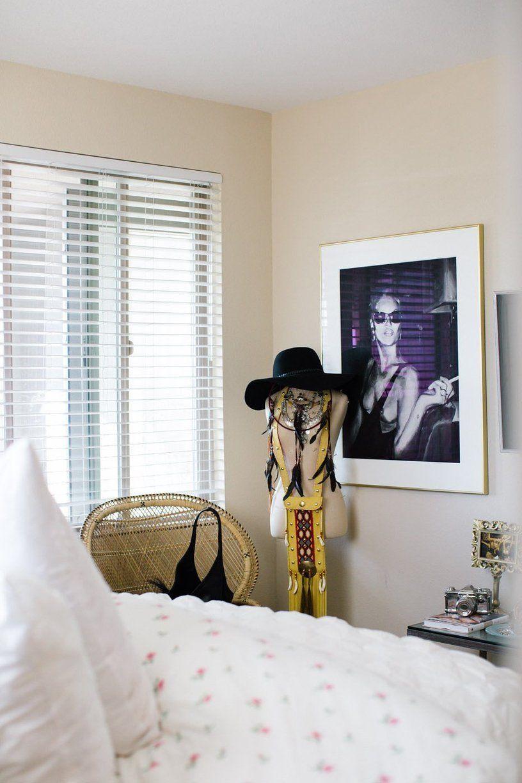 Lauryn's 'Glam Meets Bohemian' San Diego Home Bedroom