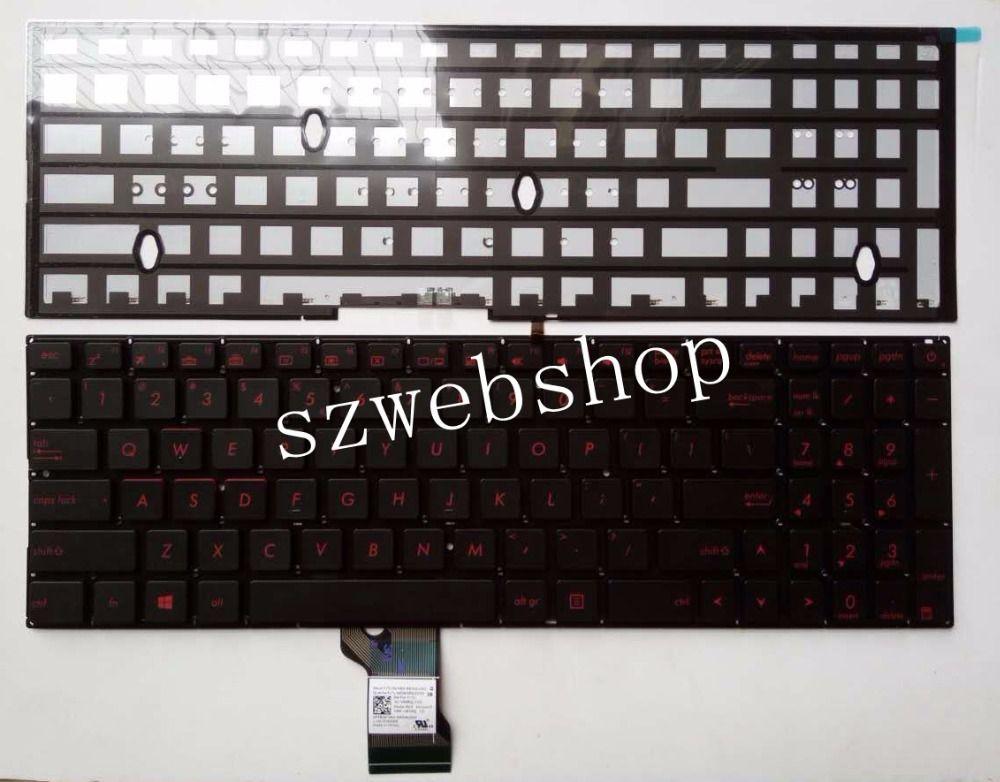 New for ASUS N541L N541LA Q501L Q501LA Q501LA-BBI5T03 Q501LA US Keyboard Silver