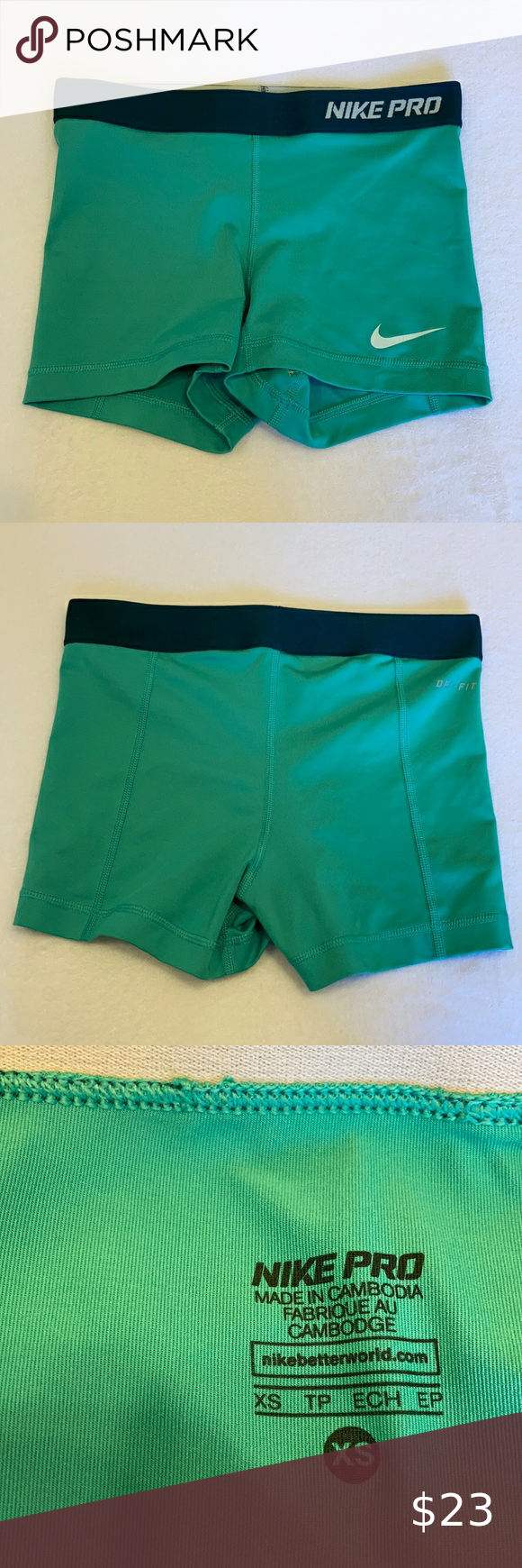 Nike Pro Volleyball Shorts Spandex In 2020 Volleyball Shorts Nike Pros Volleyball Shirts