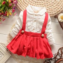 6e1f4af1d84a Spring Infant Dresses Cute Baby Dress 1 year birthday Baby Girl ...