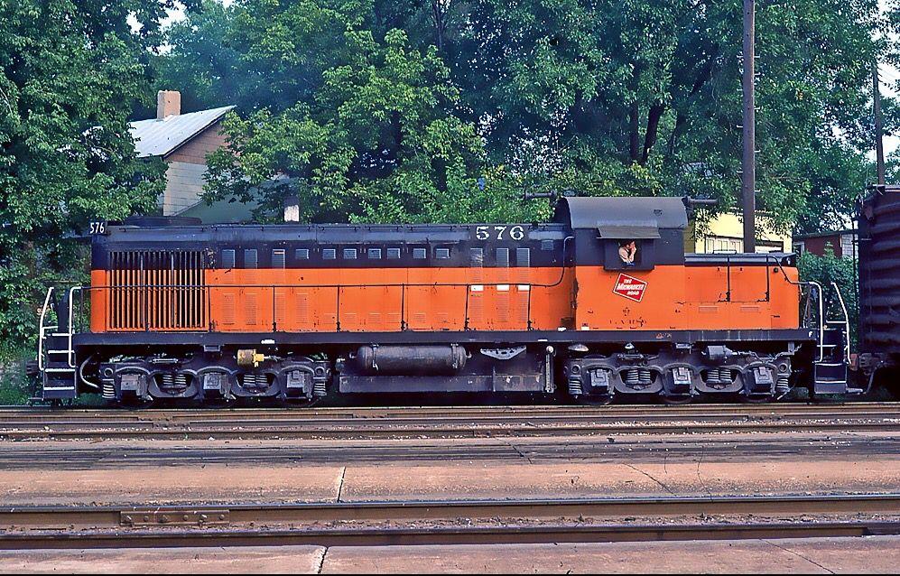Chicago milwaukee st paul pacific alco rsc 2 diesel