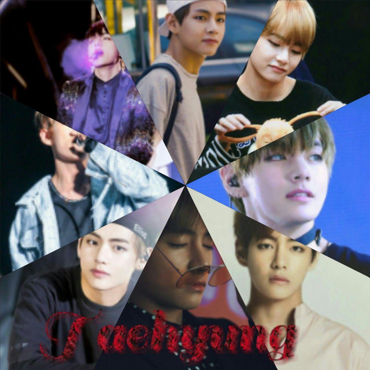 Taehyung photo collage