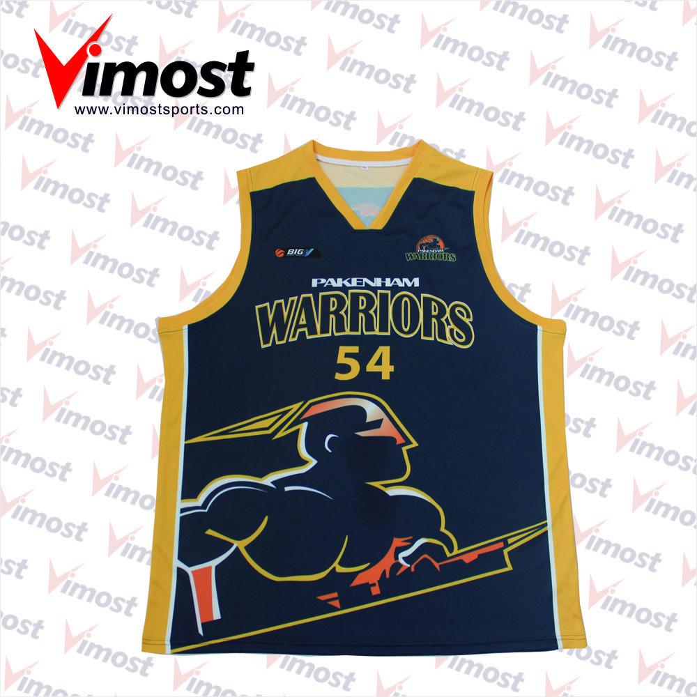 78277d819cc 2017 best sublimation 100% polyester basketball jersey custom logo design
