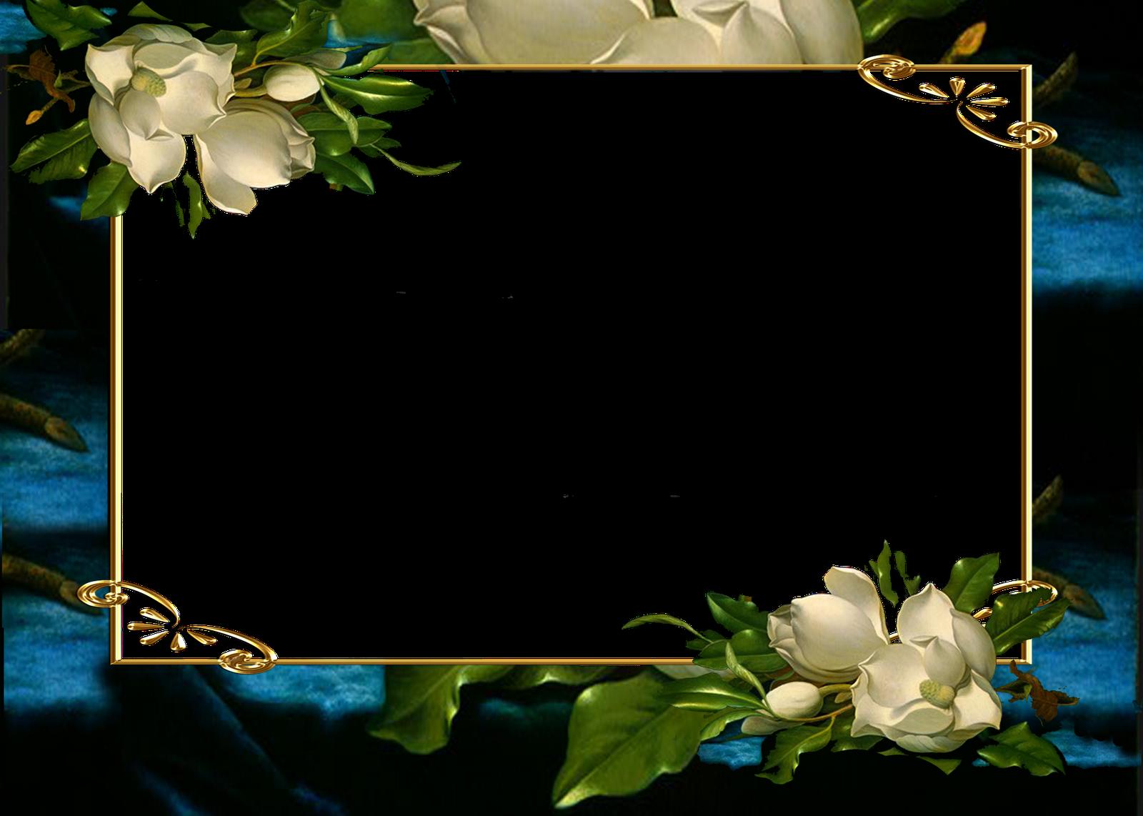 Marcos para fotos marcos ovalados con flores personajes - Marco de fotos ...