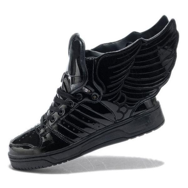 Jeremy Scott Angel Wings Black wings shoes 833742918e37