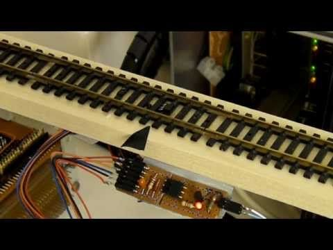 BLOCKsignalling Infra-Red Train Detector - An Introduction - YouTube