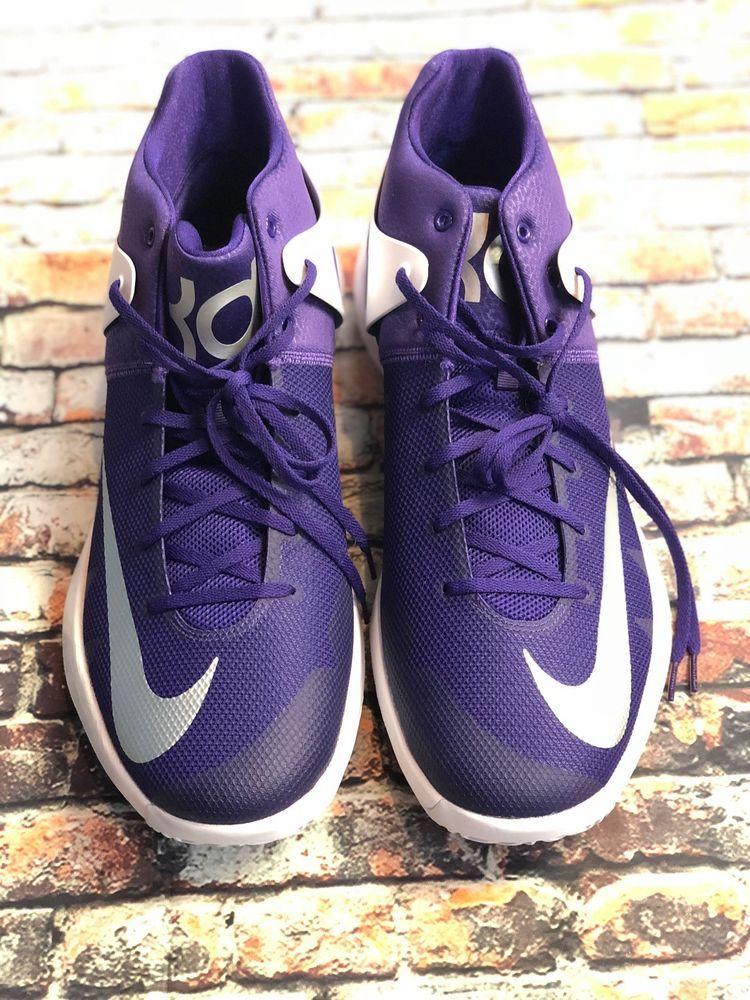 3be55bfca151 NIKE Zoom KDTREY 5     Basketball Shoes Size 17 Purple 3 4 top 856484-551  Rare  Nike  BasketballShoes