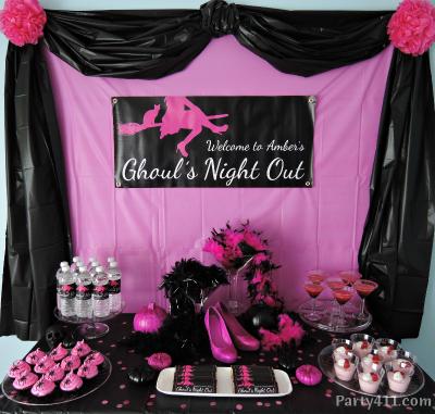 girls night theme ideas
