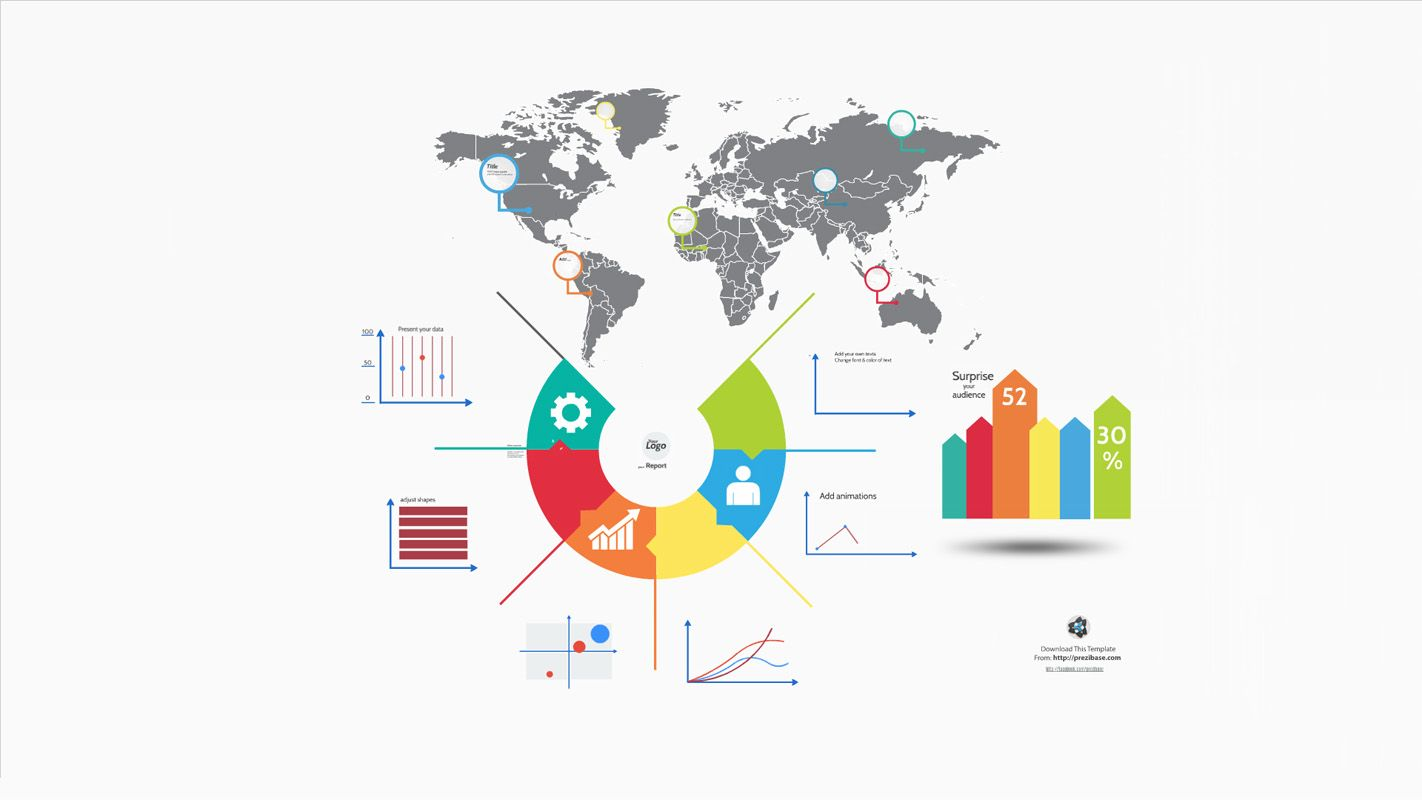 Business Communication Prezi Template  Prezi Templates By