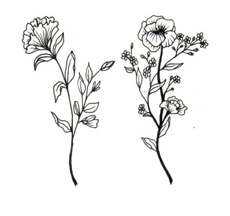 Tattoo Inspiration Tatuagens Interessantes Desenhos De Flores