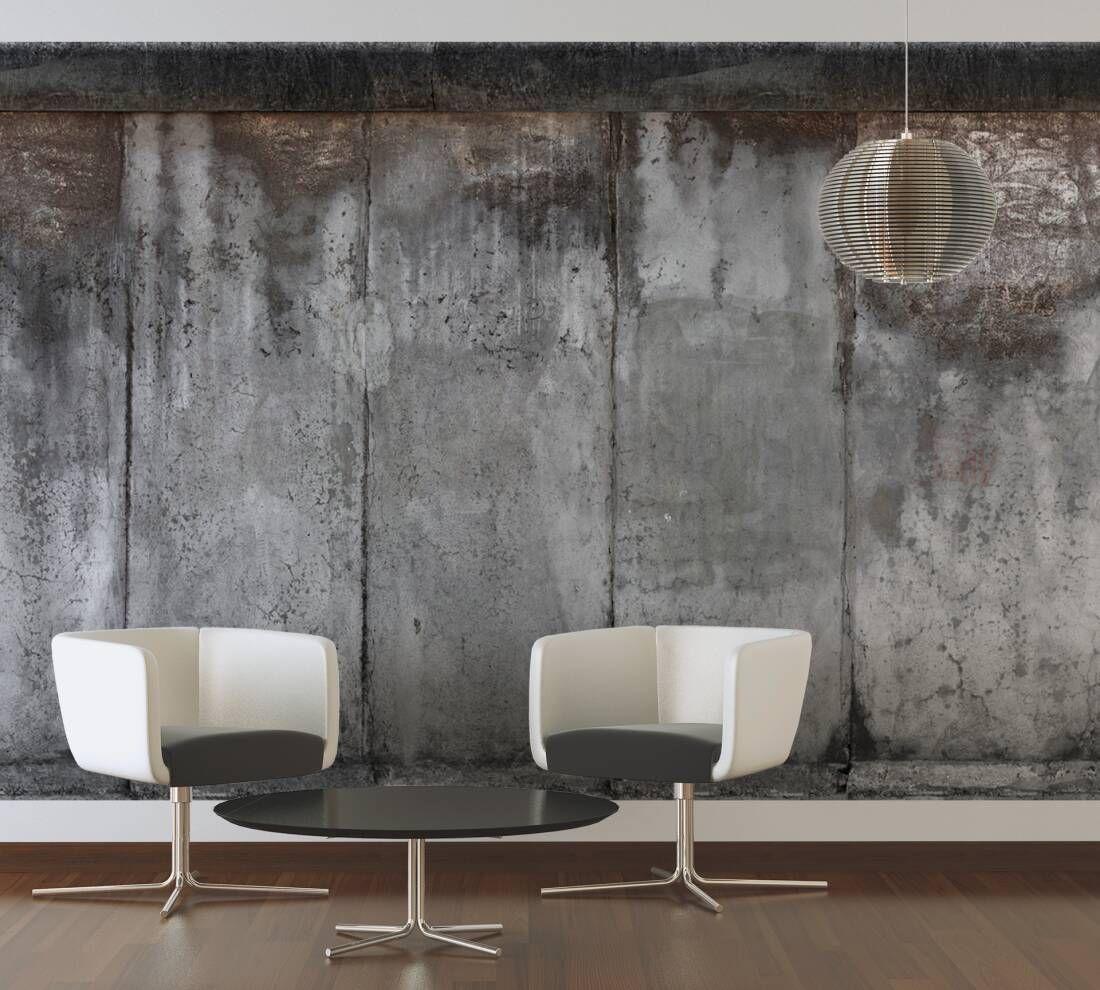 Livingwalls Fototapete «Betonwand» 476571 In 2020