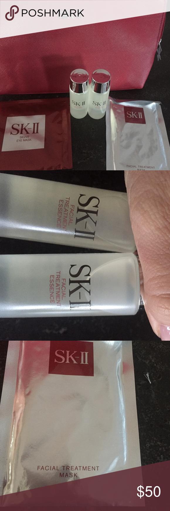 Sk-II 5 piece beauty bundle Nwt!! Brand new, never been opened!! skII Makeup