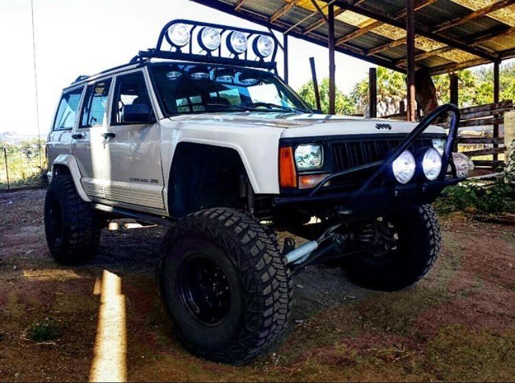 84 01 Jeep Cherokee Xj 4 Flare Off Road Fiberglass Fenders Classic Trucks Trucks Rat Rods Truck