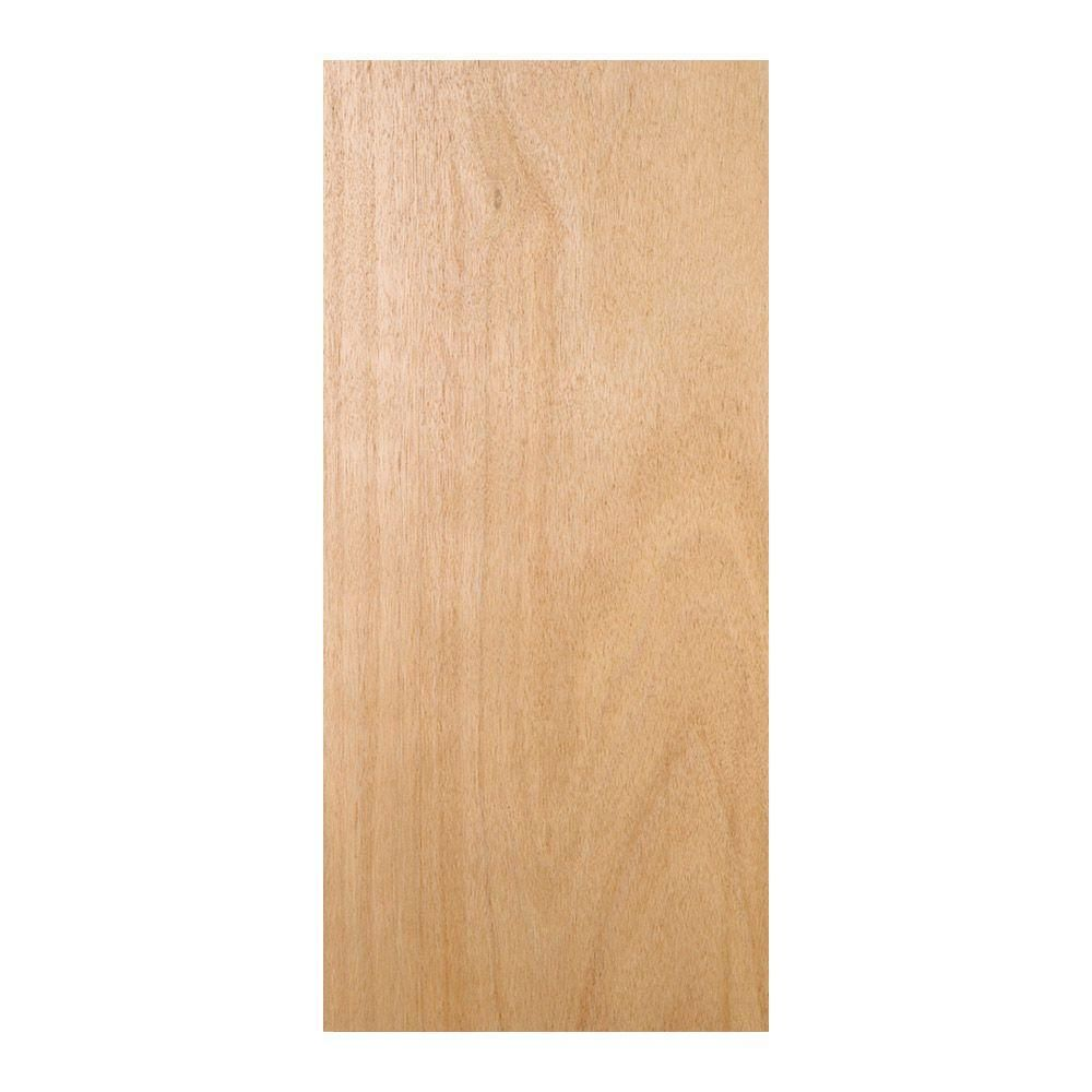 Jeld Wen 28 In X 80 In Unfinished Flush Hardwood Interior Door Slab Thdjw160700019 The Home Depot Hardwood Interior Doors Doors Interior Solid Wood Doors