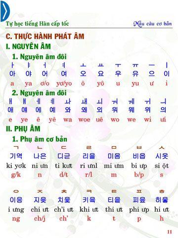 Phương pháp học tiếng Hàn hiệu quả cho người Việt, trung ...