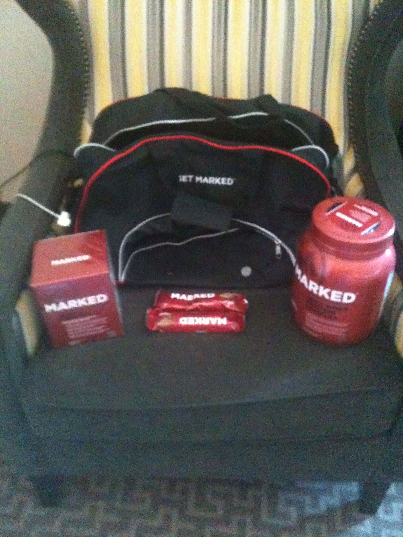 Marked nutrition products via klout #GetMARKED #fitness