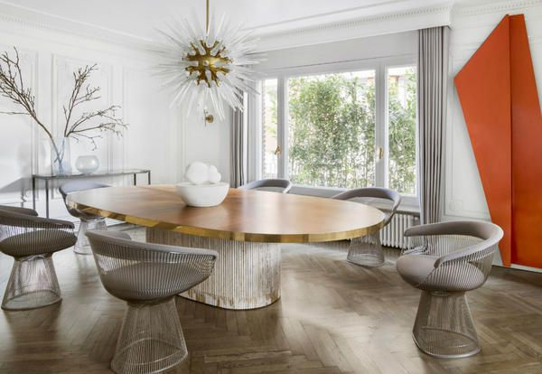 Arredamento classico per una casa a Barcellona in stile Haussman - Elle Decor Italia