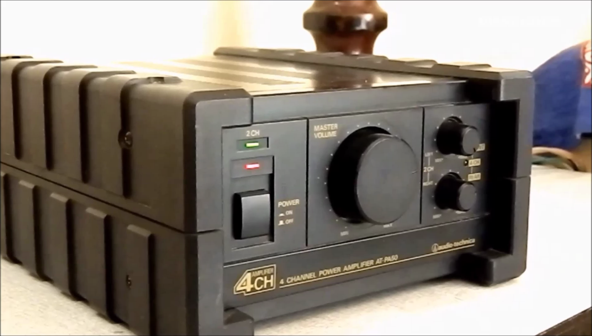 Audio Technica At Pa50 4 Channel Power Amplifier Is A 50 Watt Compact Size With Out Put Of Rms Per