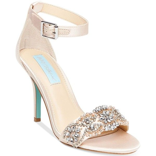 Blue by Betsey Johnson GINA - High heeled sandals - champagne Y6J5ByWob