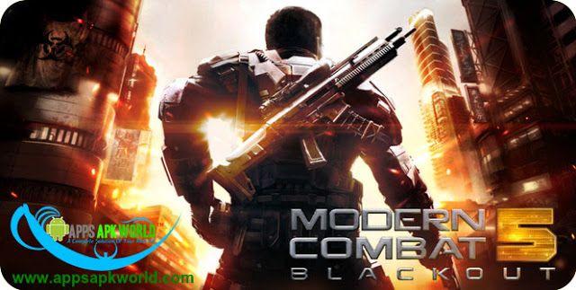 Modern Combat 5: Blackout Mod (Offline) v1 8 1b APK + DATA Download