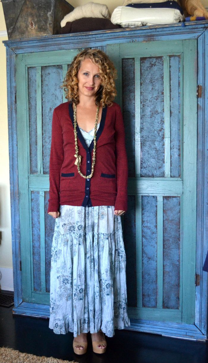 favorite cardigan for early fall.  luciakjewelry
