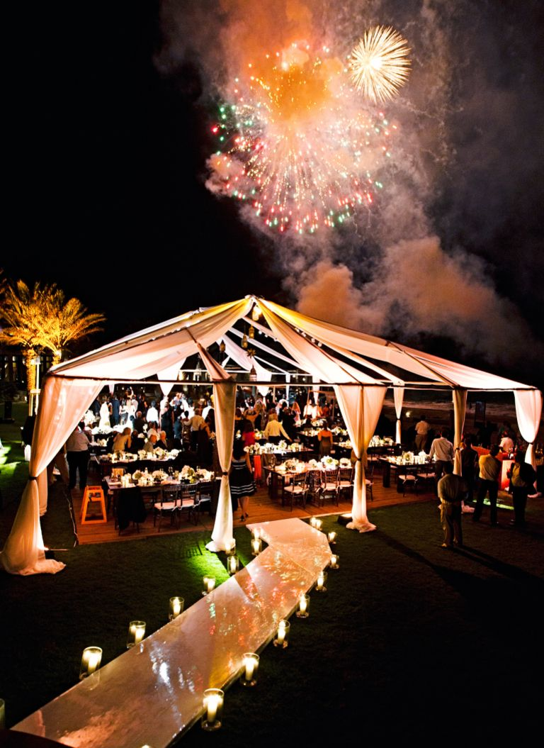 Over the top wedding decorations   of Our Favorite OvertheTop Wedding Ideas  Reception Weddings
