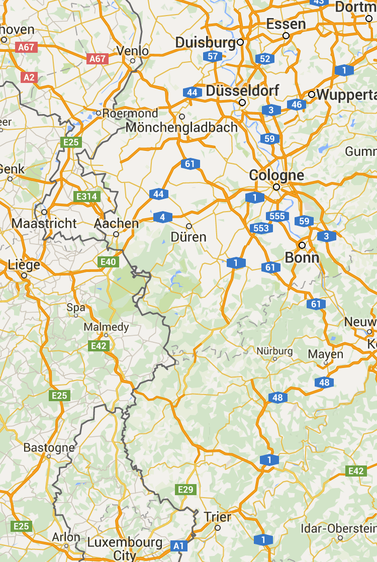 Map Of Germany Google.Heimbach Google Maps Heimbach Germany Map World Germany