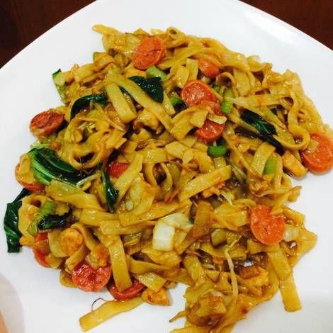 Resep Kwetiau Goreng Ayam Oleh Yevie Meliana S Resep Resep Masakan Resep Masakan