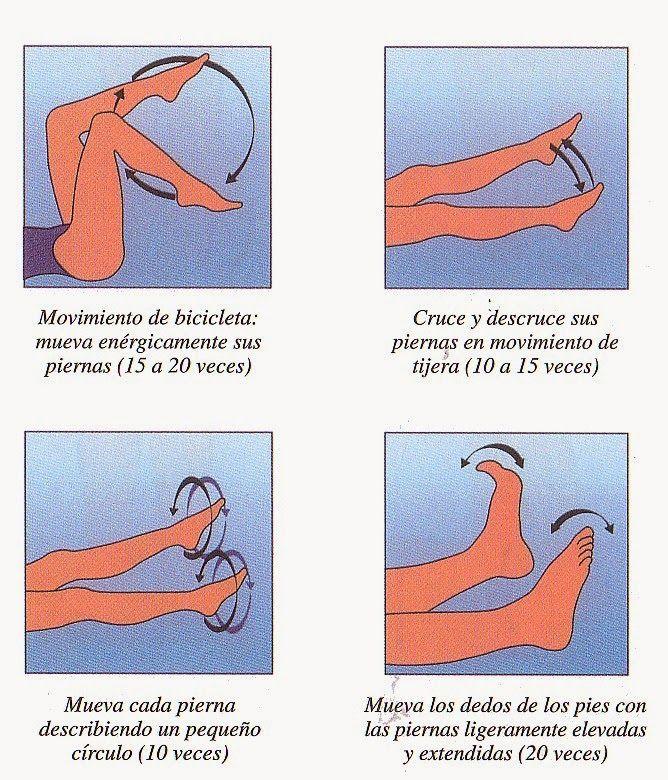 Ejercicios para varices en las piernas