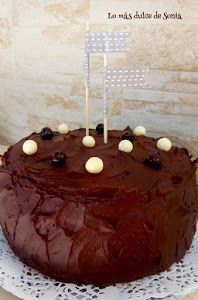 Tarta de nata y ganaché de chocolate | Cocina