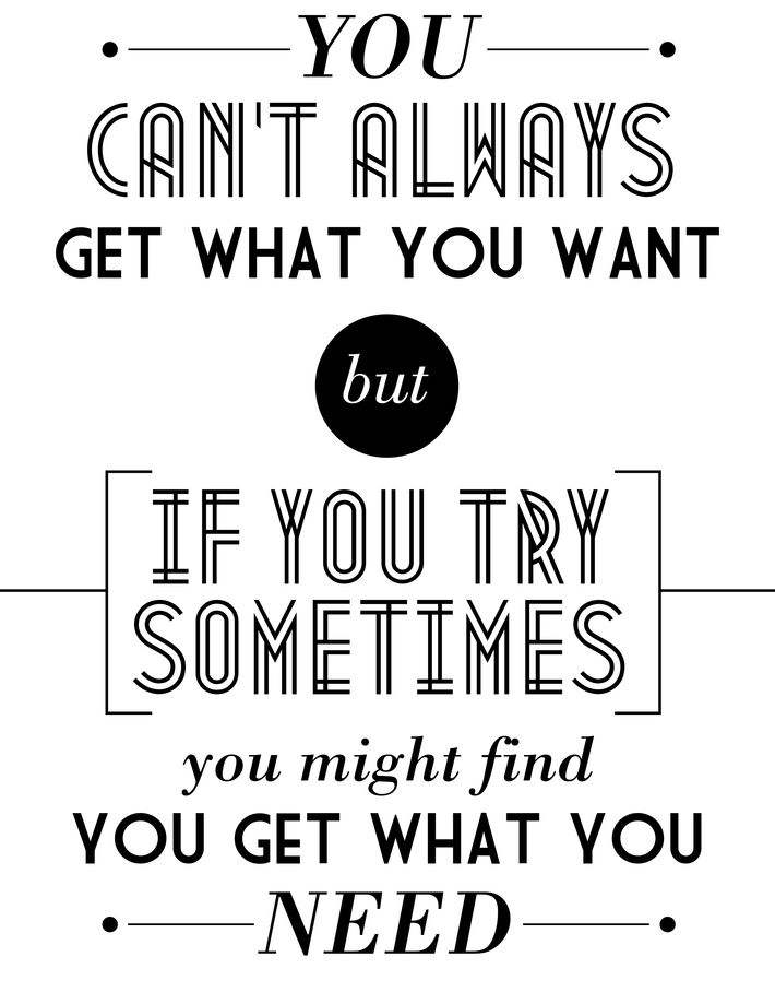 You Cant Always Get What You Want By Tomos Wilding Via Behance