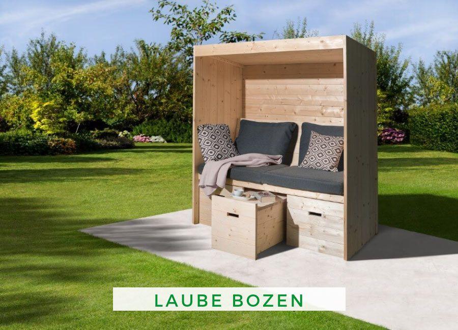 Weka Laube Bozen Gartensofa Innengarten Moderner Garten
