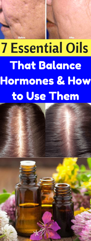 Here 7 Essential Oils That Balance Hormones And How To Use Them!!!  #lifehacks  #fitness