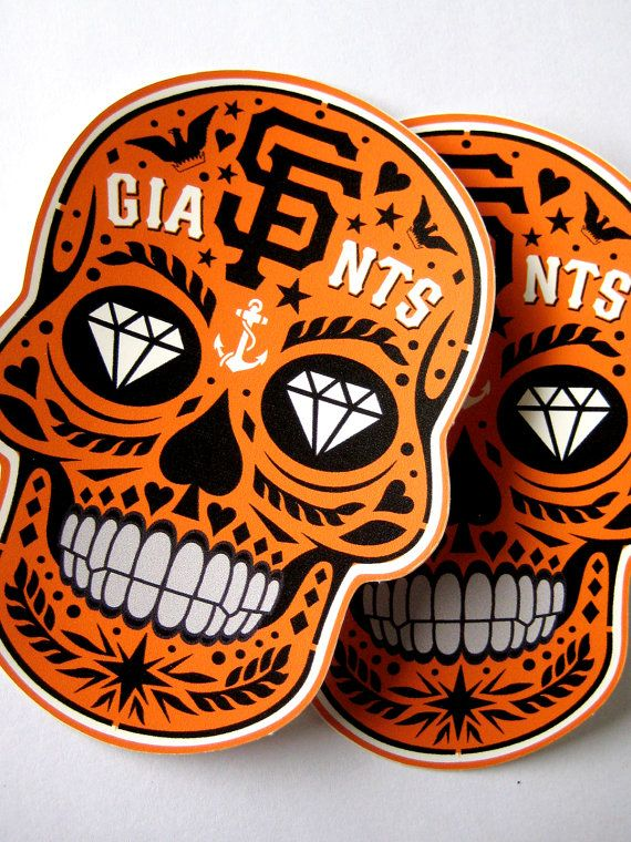 San Francisco Gigantes Stickers