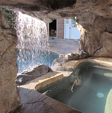 Pool Grottos Caves Backyard Pool Landscaping Backyard Pool Dream Pools