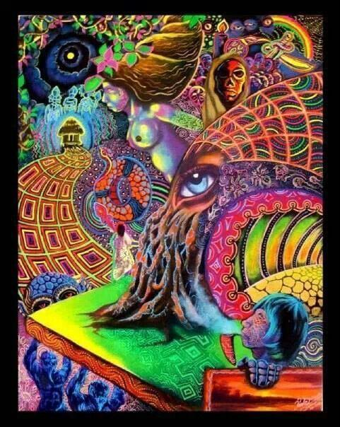 Psychedelic Visionary Art Psycadelic Art Psychedelic Art