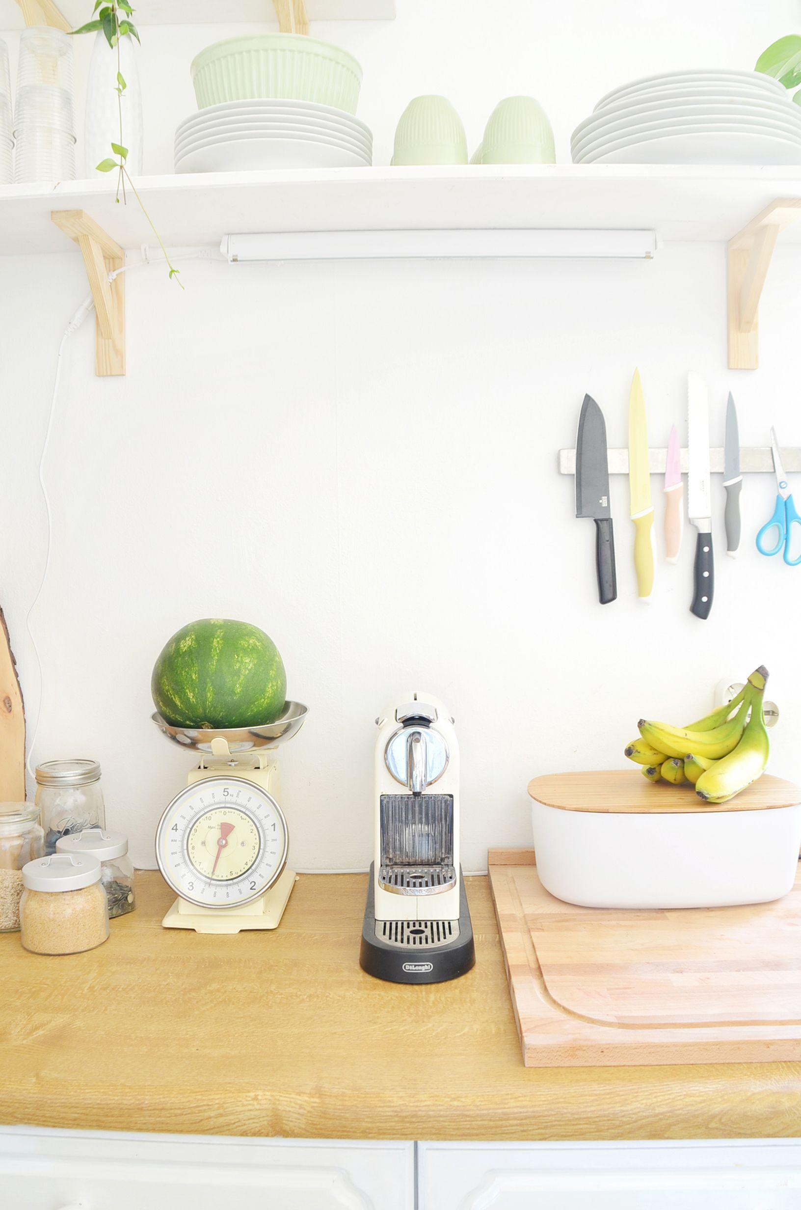 Makeover: Küche verschönern Vorher-Nachher (Teil 2   Küche ...