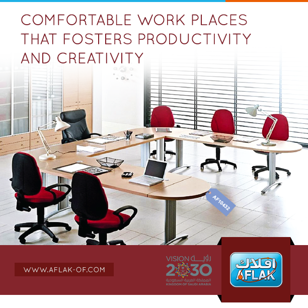 Customized #OfficeFurniture Solution #SaudiArabia. #Aflak