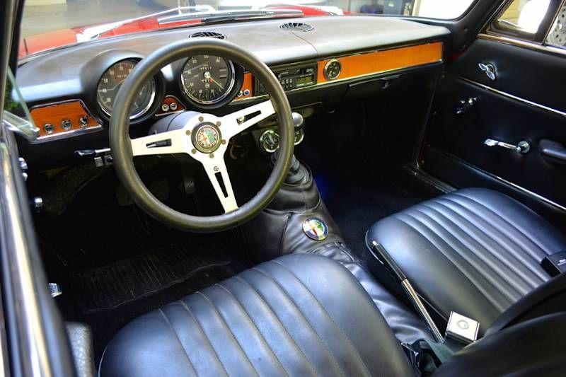 1969 Alfa Romeo 1300 Gt Junior Interior Motori