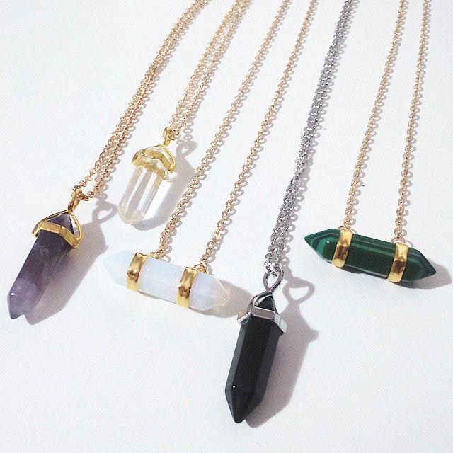 Collares de piedras collar de piedra piedra y collares - Piedras para collares ...