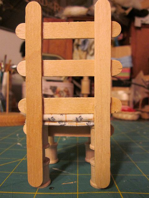 CardboardKitchen6 | Use a long popsicle stick for the back s… | Flickr