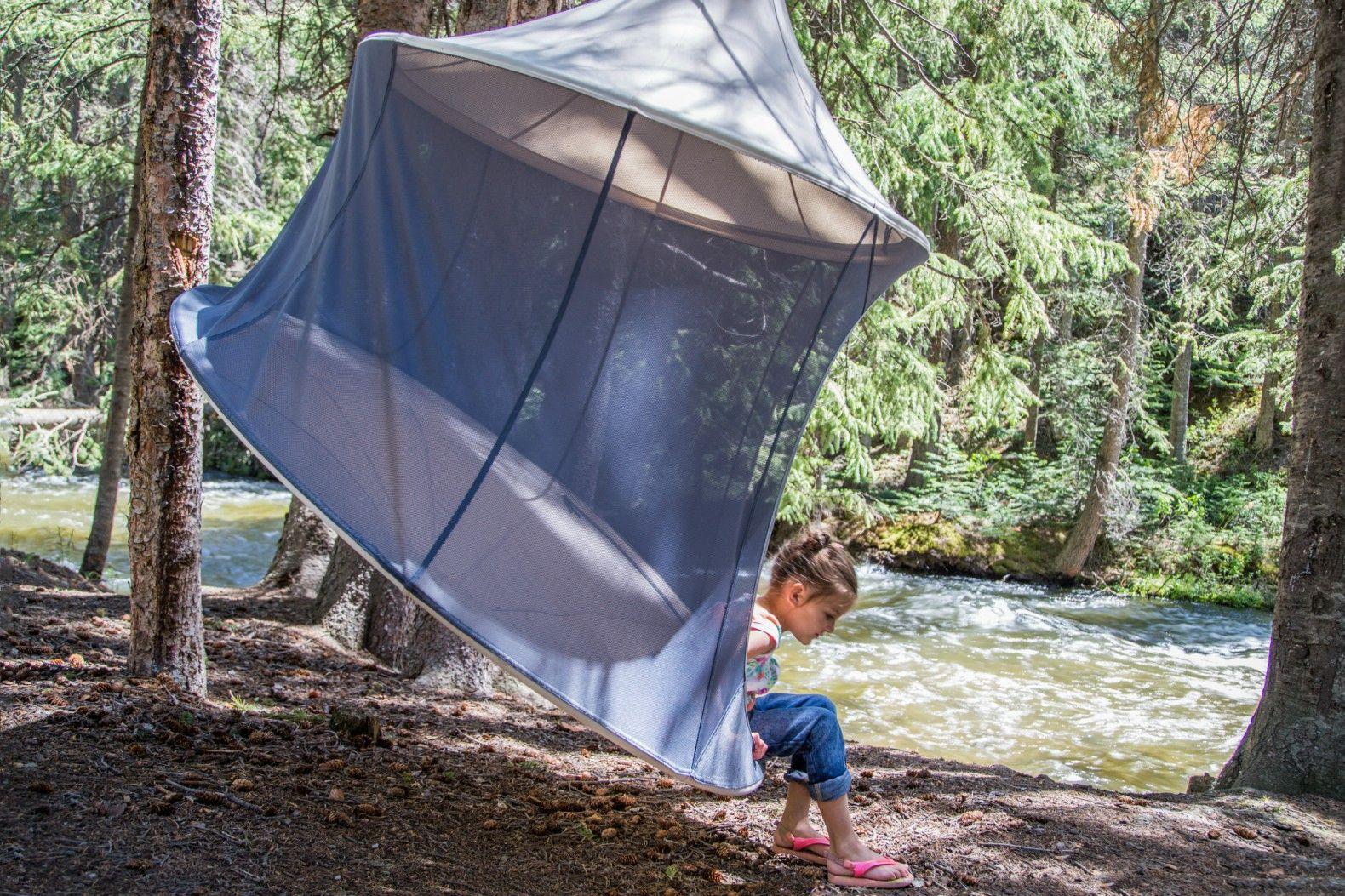 tents the treepod is a serene retreat that swings from the treetops      rh   pinterest