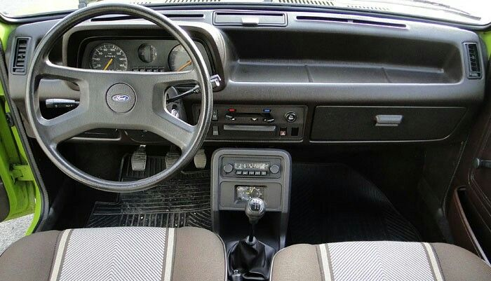 Fiesta 1976 Interior Ford Fiesta Ford